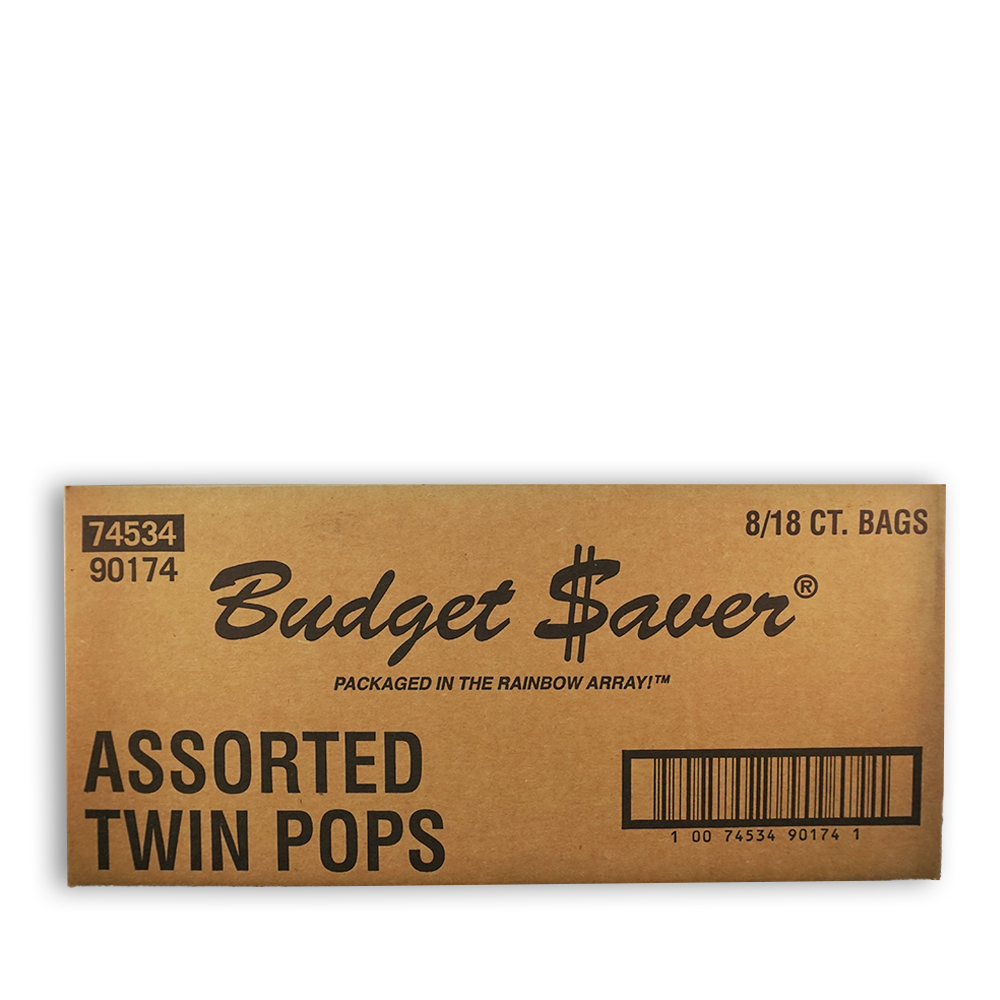 budget saver twin pops box