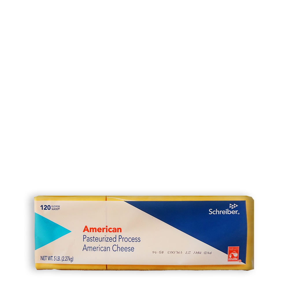 shreiber american cheese 120